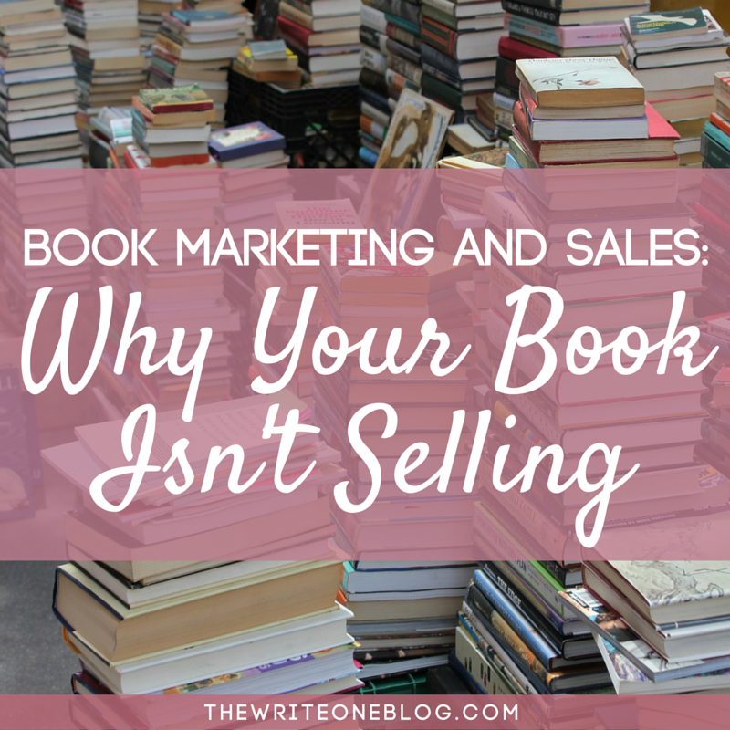 Book Marketing And Sales - The #1 reason why your book isn't selling!