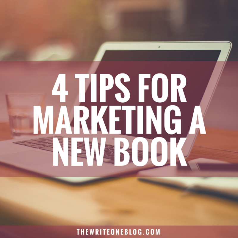 4 Tips For Marketing A New Book As A New Writer