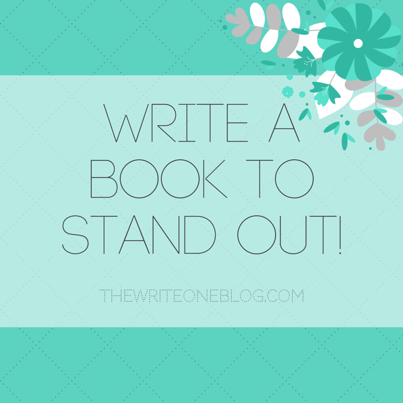 Write A Book To Stand Out And Make Your Book Unique!