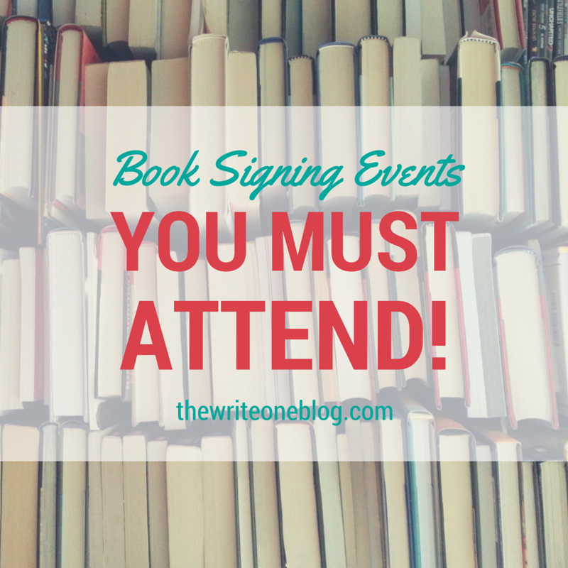 Book Signing Events For 2016 - Literary Events To Attend!