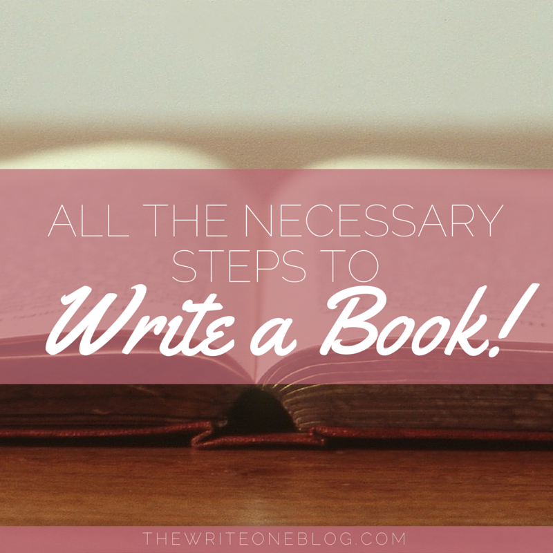 All The Necessary Steps To Write A Book For Newbies!