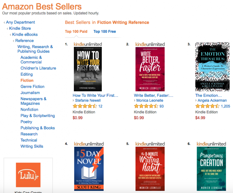 How To Write Your First Book - Bestseller Feb 16