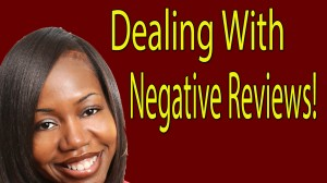 Dealing With Negative Book Reviews