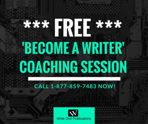 Become A Writer Coaching Session - FREE 30 Min. Coaching