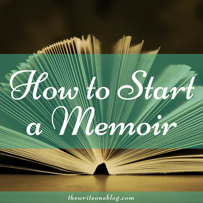 How To Start A Memoir About Your Life