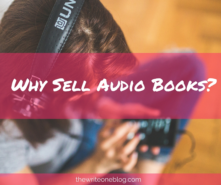 Why Sell Audio Books?