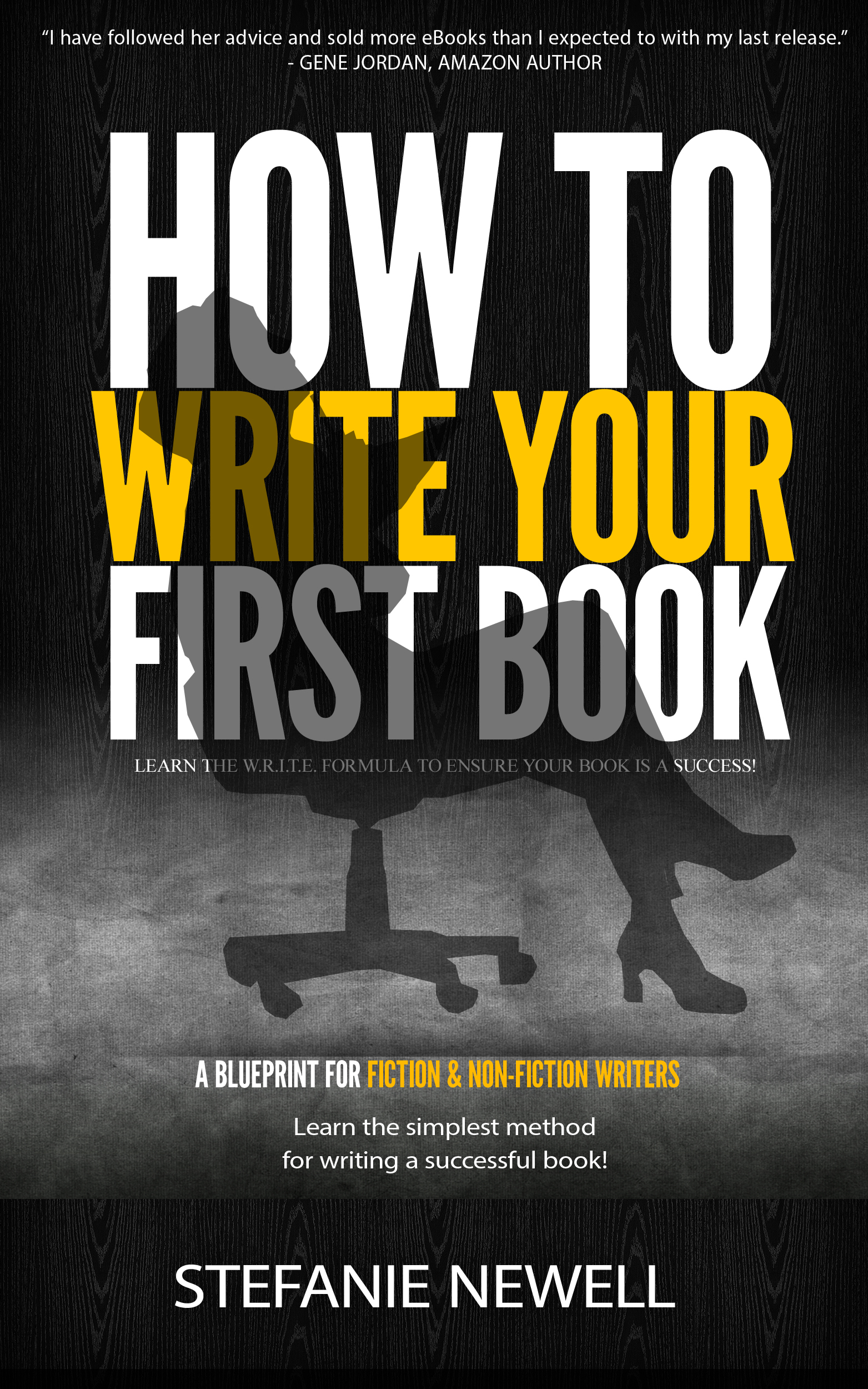How To Write Your First Book (Print Book)
